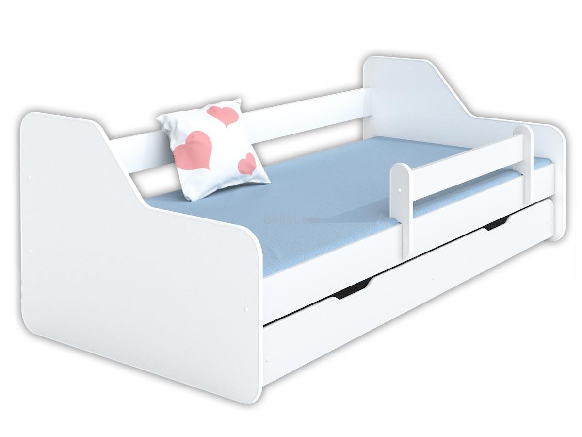 łóżko Dla Dziecka 160x80 Dione Białe