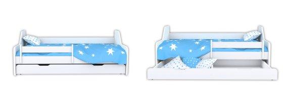wersje łóżka dla dzieci DIONE