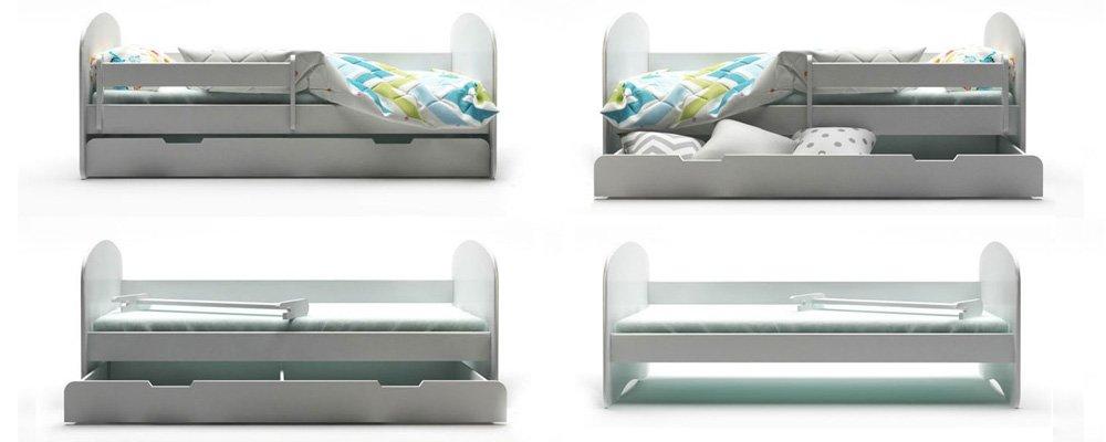 Funkcje łóżka dziecięcego BellaLuni