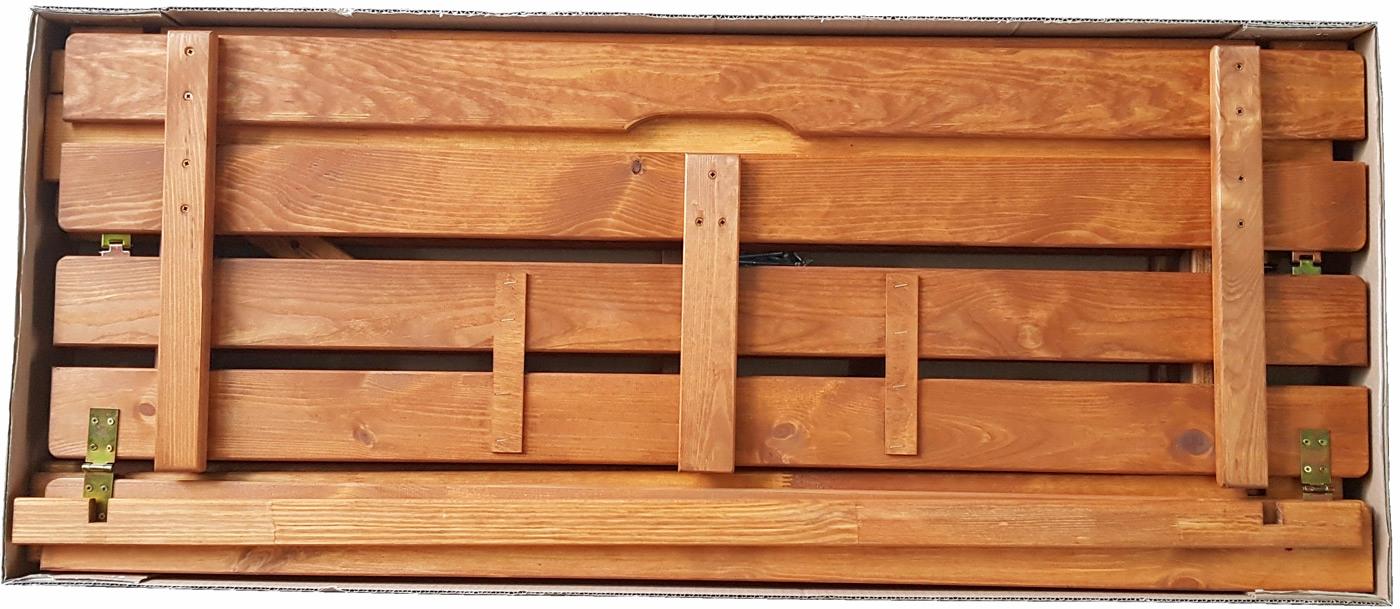 zmontowana wstępnie i spakowana piaskownica drewniana